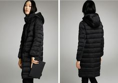 MISUN removable cap slim zipper medium long brief winter coat women long sleeve pocket twill solid 70% white duck down parkas-inDown & Parkas from Women's Clothing & Accessories on Aliexpress.com | Alibaba Group US $130