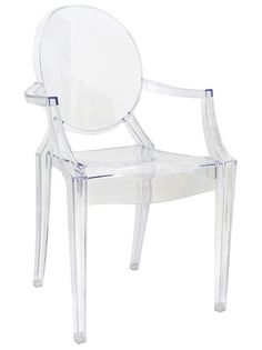 Cadeira Louis Sophia Vision Ghost Policarbonato Cr- F.starck - R$ 294,99