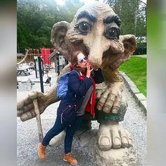 """""""Love my troll  #travel #adventure #Norway #bergen #troll #love"""""""