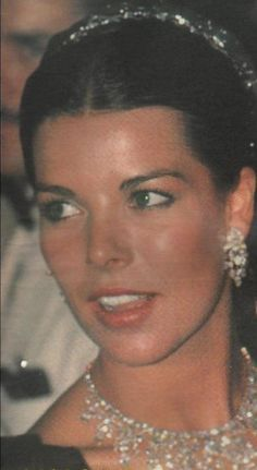 Princess Caroline of Monaco at the Red Cross Ball.August,1983.