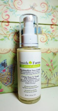 Smith Farms Marshmallow Face Cream--a treat for your face! Click thru for review!