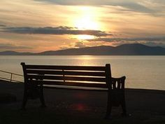 Abbey Town - Sunset on The Solway Abbey Town © Mike Faulkner
