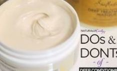 The Dos & Don'ts of Deep Conditioning Natural Hair Care Tips, Curly Hair Tips, Curly Hair Care, Kinky Hair, Natural Hair Journey, Curly Hair Styles, Natural Hair Styles, 4c Hair, Curly Girl