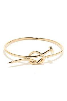 Hammer Time Gold Nail Bracelet