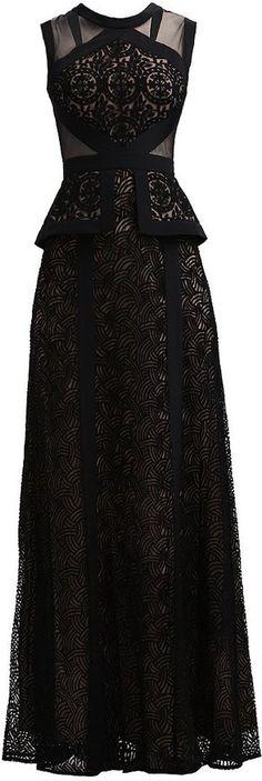 What a beautiful dress! - BCBGMAXAZRIA Ballkleid black