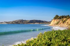 Butterfly Beach in Santa Barbara, CA  Photographic Print in Various Sizes