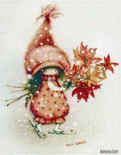 Holy Hobbie Christmas card