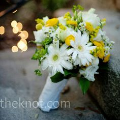 Daisy, white, yellow bouquet