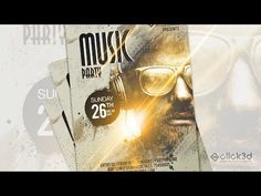 In this Advance Photoshop Tutorial, We will learn to create Music Party Poster Design, or you can say Abstract Art In this project We will use Splatter Brush. Photoshop Tutorial, Adobe Photoshop, Photo Manipulation Tutorial, Music Party, Party Poster, Abstract Art, Presents, Graphic Design, Make It Yourself
