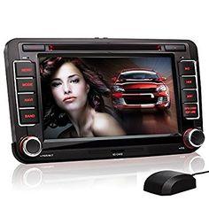 XOMAX VW04 Autoradio, Moniceiver, Naviceiver con navigatore GPS, Polnav Car Navigator 6 e cartografia europea, Funzione vivavoce Bluetooth con importazione rubrica telefonica, Display touch screen da 7-Inch per VOLKSWAGEN / SEAT / SKODA