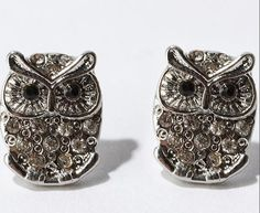 owl earrings,  #midmagazine