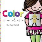 Color Pals Writing Craftivity