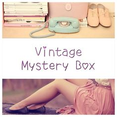 ☎️Vintage Inspired Super Size Mystery Box☎️ Just comment with your size and a little bit about yourself (maybe some favorite brands). Mystery boxes come with 3-5 items (occasionally freebies are added). There's always at least one top or dress, and I hand wrap everything. All proceeds go towards getting me a husky puppy. Please feel free to tag your friends. Downsize any mystery box from a Super Size ($50) to a Fun Size ($25). Fun Size mystery boxes come with 1-3 items. Just comment and I…