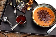 Chipotle Chocolate Pumpkin Soup