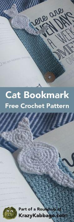 Cat Crazy Free Crochet Patterns – Krazykabbage #crochet #freepattern #cat #craft #homemade #reading #book #handmade #pets #kitty