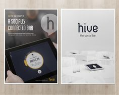 Hive, the social bar - Overview on Behance