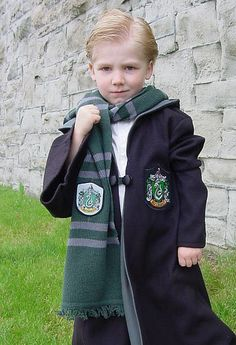DRACO MALFOY! (If E is still blond next Halloween, I will try with every fiber of my being to make this happen)