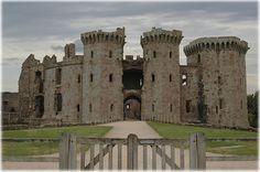 Raglan Castle, Raglan, Monmouthshire,have fun cleaning this:)