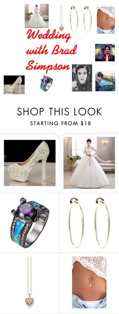 """wedding with Brad Simpson"" by angel-violet-hope ❤ liked on Polyvore featuring Bebe and Thomas Sabo"