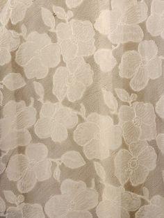 Evening Dress (image 4) | Madeleine Vionnet | France | 1935 | organza, net | Victoria & Albert Royal Museum | Museum #: T.379-2009