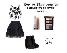 Top ou Flop pour un rdv avec Zayn Malik des One Direction ?  #tenue #création #top #jupe #lips #eye #boots #sab