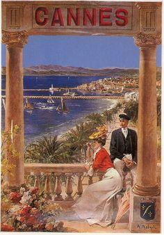 Affiches Côte d'Azur - Affiches anciennes