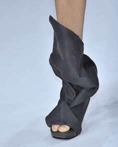 Rick Owens  From Maria's ( wow...amazing inspiration. )