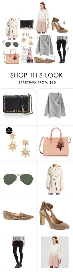 """""""Black Friday Sales"""" by classicandgray ❤ liked on Polyvore featuring Rebecca Minkoff, Chicwish, BaubleBar, Henri Bendel, Ray-Ban, T Tahari, Sole Society, Banana Republic, Topshop and LOFT"""