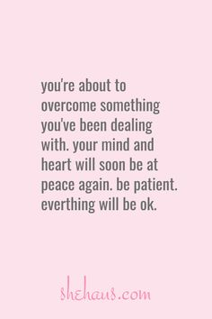 You're about to overcome something you've been dealing with. Your heart has been heavy but pay attention. Motivacional Quotes, Faith Quotes, Great Quotes, Quotes To Live By, Inspirational Quotes, Start Quotes, Positive Thoughts, Positive Quotes, Cool Words