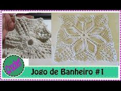 Veja o Blog Antes de começar -Jogo de Banheiro em Crochet com Barbante #1 - YouTube