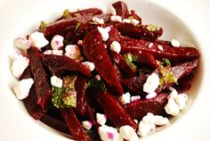 Beet Salad Recipe with Goat Cheese – I can't wait to try it. My beets should be ready to harvest any day now.