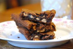 Reeses Chewy Chocolate Pan Cookies