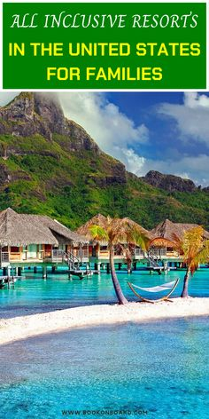 The top 8 all-inclusive family resorts in America. Let us look at all inclusive resorts in the United States for families. Best Tropical Vacations, Beach Vacation Spots, Family Vacation Destinations, Family Beach Vacations, Vacation Wishes, Summer Vacations, Cruise Vacation, Family Resorts In Florida, Arkansas Vacations