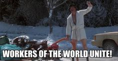 Dead 2 Rights: What if Cousin Eddie from 'Vacation' had been played by Karl Marx?