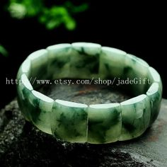 Free Shipping   AAA Natural Burma Green Jadeite Jade by jadeGift, $68.99