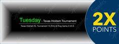 NL Texas Hold 'em - Tournament