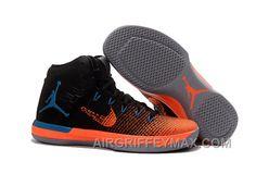 2017 Mens Air Jordan XXX1 Black Orange Blue Basketball Shoes Authentic  R6D2wjx