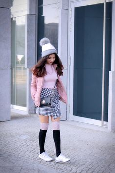 Get some ideas from my outfit here:   #pink love