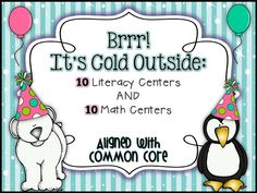 Queen of the First Grade Jungle: Brrr: It's Cold Outside Units: January Units Posted