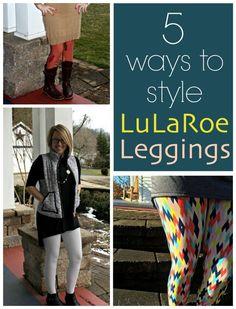5 Ways to Style LuLaRoe Leggings
