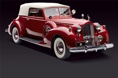 Image result for 1938 packard convertible