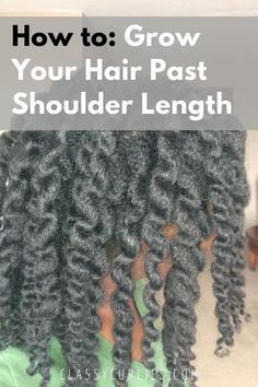 Tips on growing your natural hair past shoulder length - ClassyCurlies Best Natural Hair Products, Natural Hair Care Tips, Natural Hair Regimen, Natural Hair Growth, Natural Hair Journey, Natural Hair Styles, Natural Beauty, Natural Haircare, Beauty Products