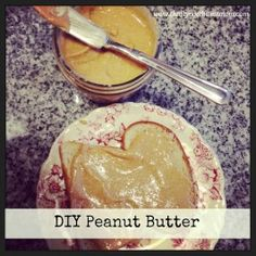 diy peanut butter on toast