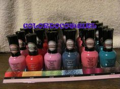 'Bonus 6 KleanColor Scented & Non Scented Nail Lacquers' is going up for auction at  3pm Tue, Aug 6 with a starting bid of $6.