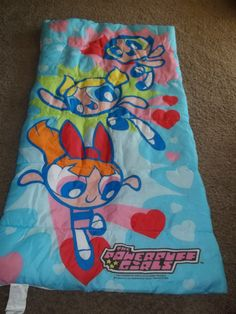Vintage The Powerpuff Girls Sleeping Bag Slumber Bag | eBay