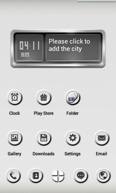 NEXT Launcher Minimal Buttons v1.1  Requirements: Android 2.2 and up  Overview: Minimal Buttons is a BLACK theme app for the Next Launcher 3D