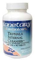 """Triphala Internal Cleanser 1000mg - 90 - Tablet by Planetary Herbals (Formerly Planetary Formulas). Save 39 Off!. $7.96. The Story of Triphala   The Supreme   Internal Cleanser of India      """"I sat as an apprentice student with   various Ayurvedic doctors and watched their prescriptions.  I never saw a   single patient to whom Triphala was not given on a daily basis.""""   Michael   Tierra, L.Ac., O.M.D.      Triphala (three fruits) is one of the   oldest and, beyond doubt, the most..."""