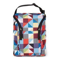 a013f7ee255a Skip Hop Grab   Go Double Bottle Bag In Prism Print Multi Bottle Warmer