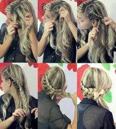 I did this style on my hair and it is amazingly cute! I love it!!