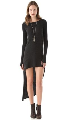 i will own this .. and it will not be this short because my legs are clearly not as long as hers....
